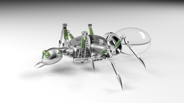 Robotic ant | Free 3D models