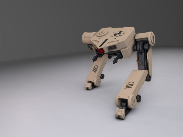 Two legs robot