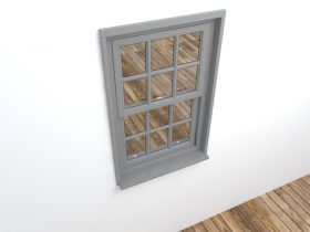 window 3d max model