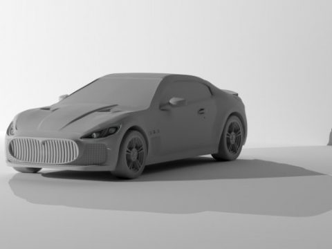 2014 Maserati GT 3D model
