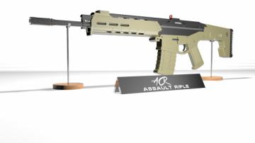 ACR Assult Rifle 3D model