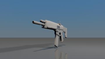 ACR Adaptative Combat Rifle 3D model