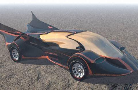 Batmobile Concept Prototype 3D model