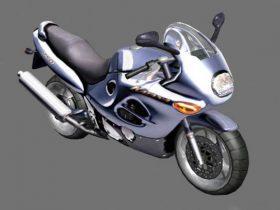 Bike Suzuki Katana 3D model
