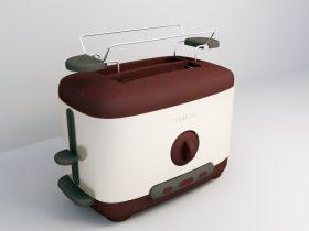 Breadmaker 3ds max model