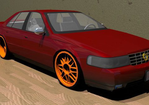 Cadillac Seville SDS 2000 3D model