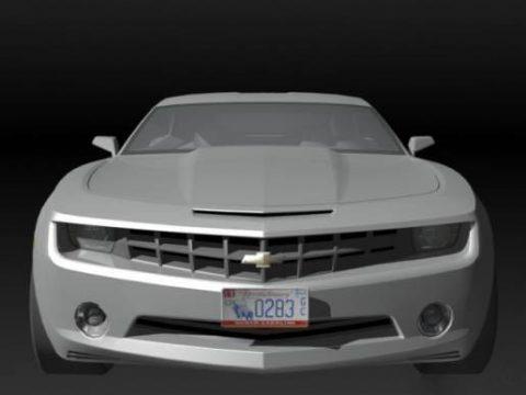 Camaro 2009 3D model