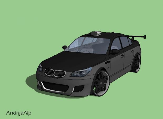 Car Tuned 3D model