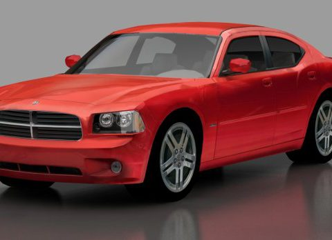 Charger 3D model