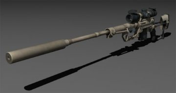 Cheytac M200 Intervention 3D model