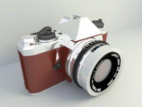 Classical Camera 3d model