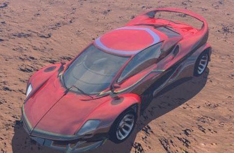 Cobra RX55 3D model