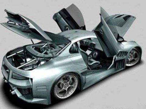 Cyborx 10XLl 3D model
