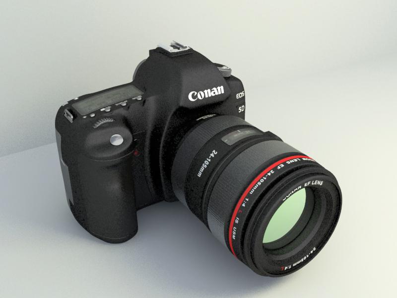 Digital Camera cannon 3d model