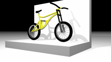 Downhill Bike 3D model