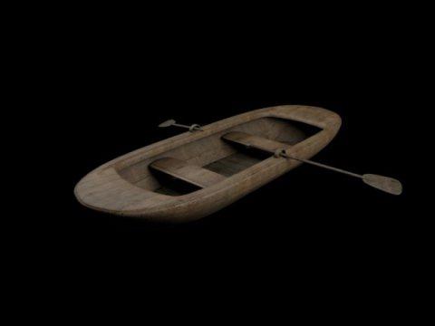 Fisherman Boat 3D model