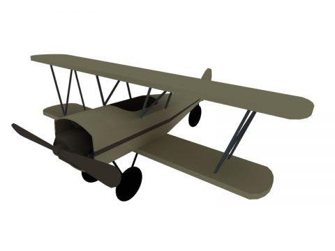 Flight Toy 3d model