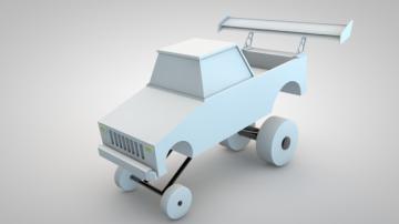 Fliso Truck 3D model
