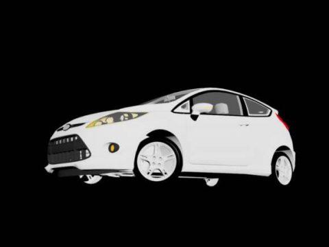 Ford Fiesta Zetec 2010 3D model