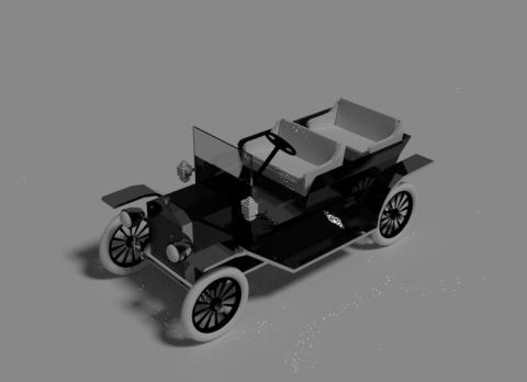 Ford Model T 3D model