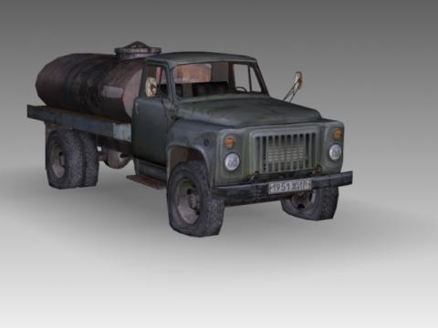 Gaz 53 3D model
