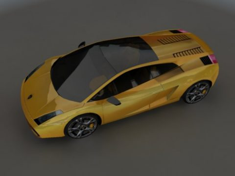 Gallardo 3D model