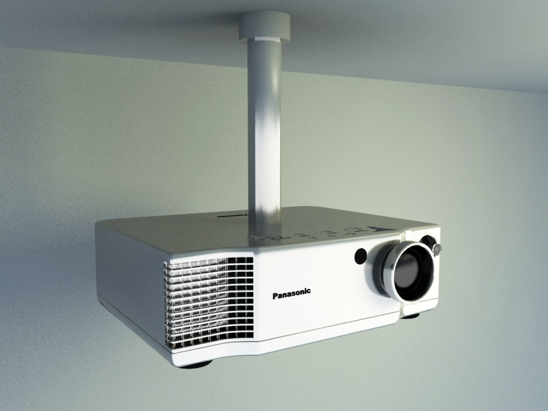 Hanging Projector 3d model