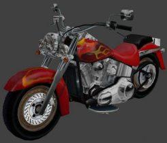 Harley-Davidson 3D model