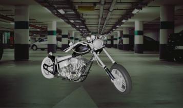 Harley Davison 3D model