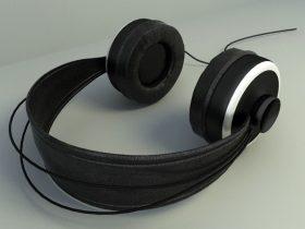 Headset 3d model