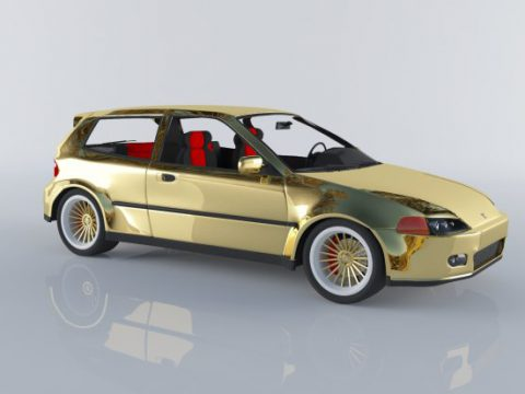 Honda civic 1992 hatchback