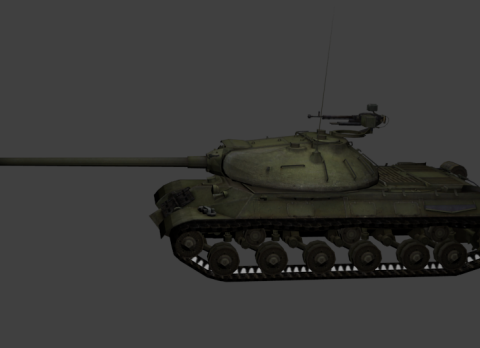 IS-3 Heavy Tank 3D model