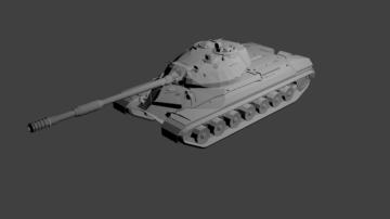 IS-8 Heavy Tank Aka T-10 3D model