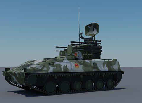 Iron Dove AA PGZ-95 AA 3D model