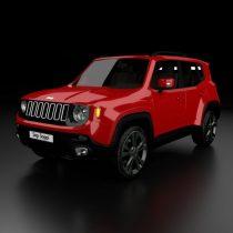 Jeep Renegade 3D model