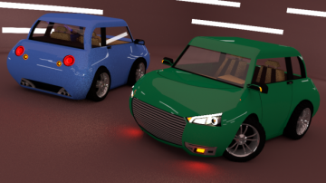 KAMAZKY CAR 3D model