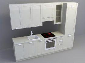 Kitchen Set 3d skp model