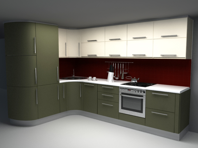 Kitchen Set | Downloadfree3D.Com