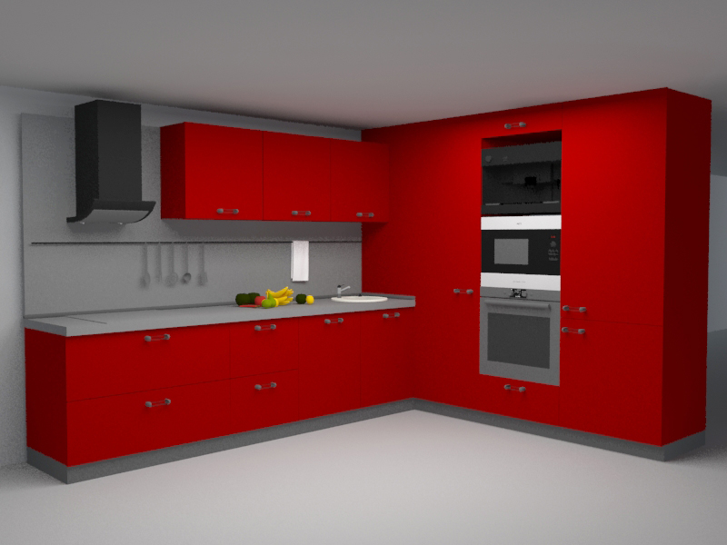 Kitchen Set Downloadfree3d Com