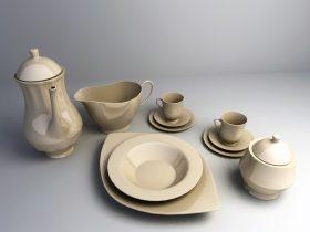 kitchen accessories 3ds max model