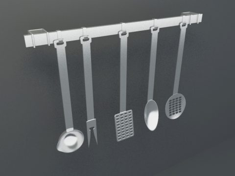 Kitchenware 3ds model
