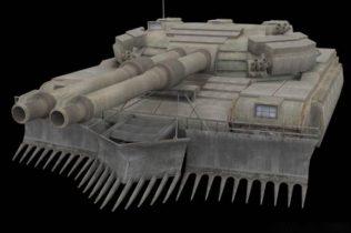 Kravchenkos Tank 3D model