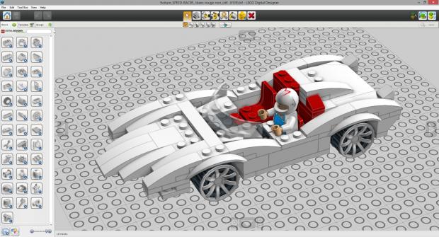 LEGO Car | Free 3D models
