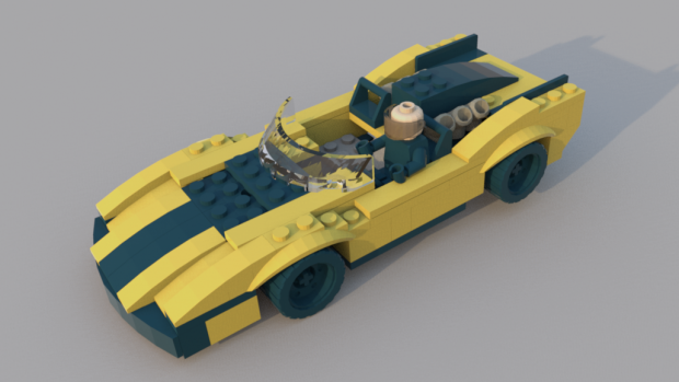 Lego Car Downloadfree3d Com