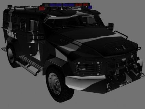 Lenco B.E.A.R. 3D model