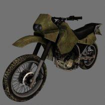 M1030 Motorbike 3D model