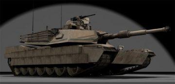 M1A2 TUSK 3D model