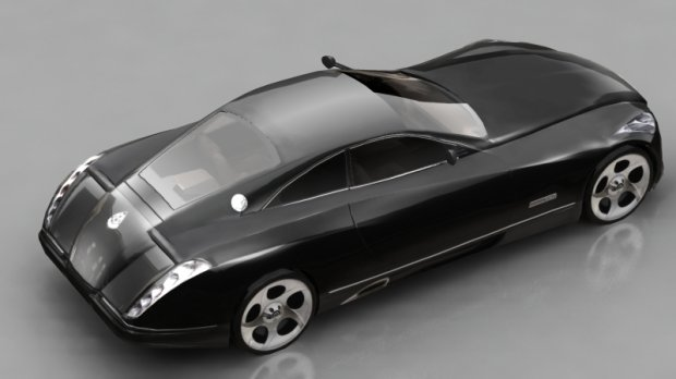 maybach coupe | free 3d models