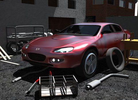 Mazda RX-8 3D model