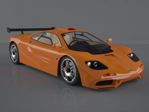 Mclaren F1 1994 3D model